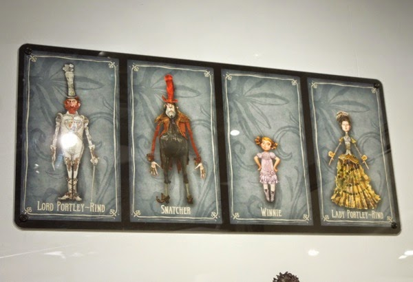 The Boxtrolls character designs