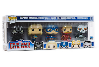 Funko Pop!: Pack Civil War Disney Store.