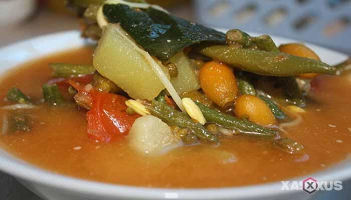 Resep cara membuat sayur asem Jawa Timur