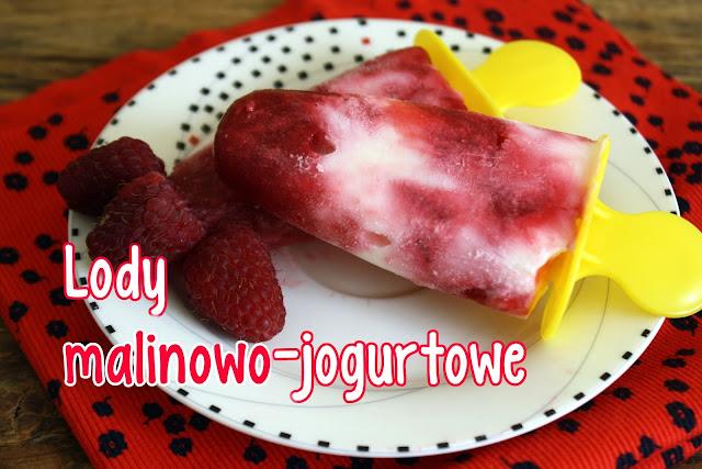 Lody malinowo-jogurtowe
