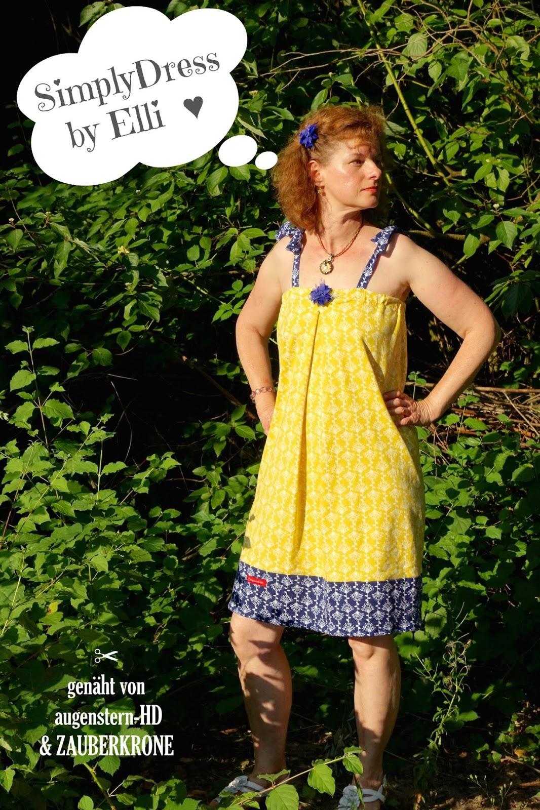 Probenahen Bei Elli Mcpoo Bandeau Kleid Simplydress Augensterns Welt