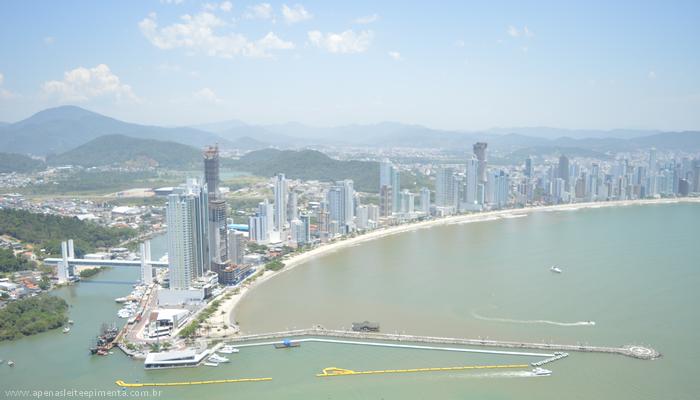 Imagem área Balneário Camboriú