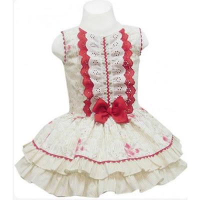nueva coleccion de vestidos de vuelo para niñas de miranda moda infantil
