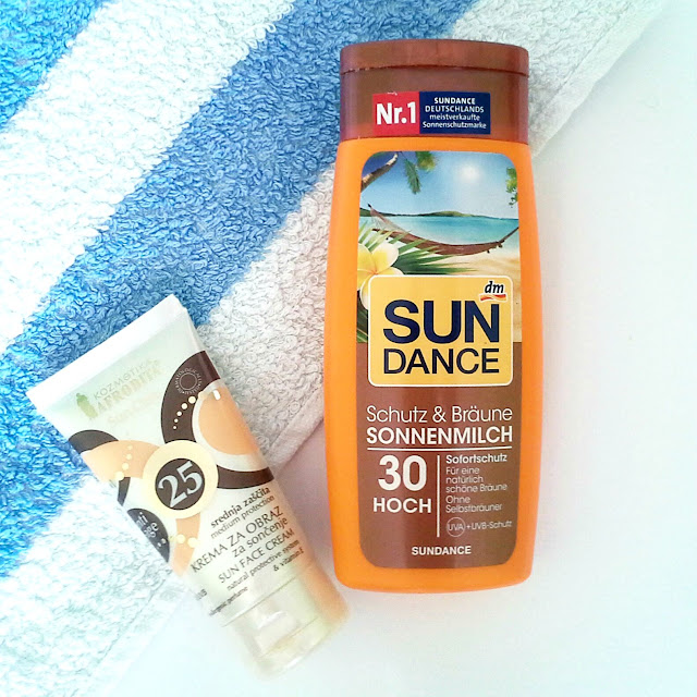 Afrodita face sunscreen Sundance suncreen