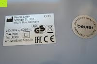 Sicherheit: Beurer LR 300 Luftreiniger mit HEPA Filter für 99,5% Filterleistung, ideal bei Heuschnupfen und zur Allergievorbeugung