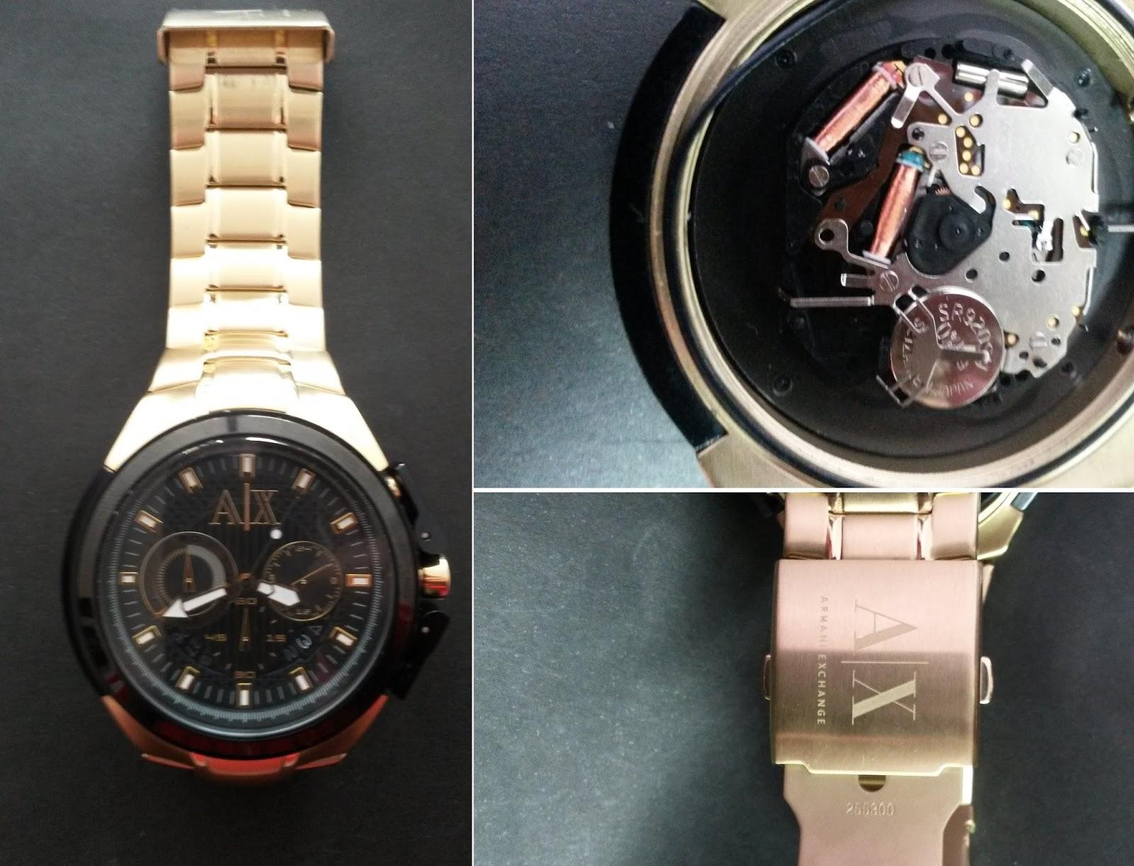 1e5965951c4 Relógio Armani Exchange