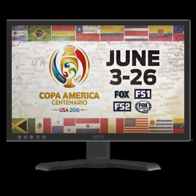 Calendario y Horarios Copa America Centenario 2016