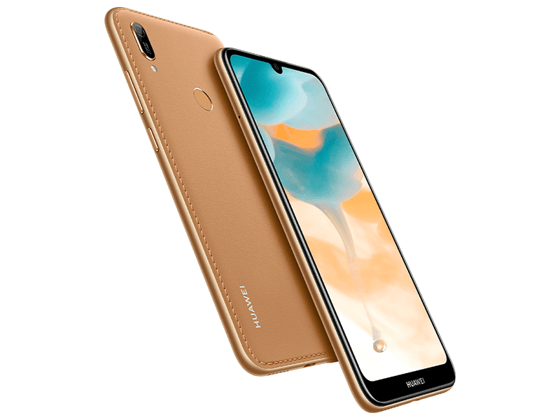 Huawei Y6 2019 with dewdrop notch and fingerprint scanner announced