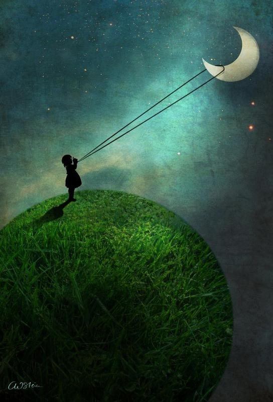 04-Chasing-The-Moon-Catrin-Welz-Stein-Collages-of-Illustrations-and-Photographs-Resulting-in-Surrealism