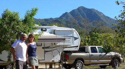 Anders and Liz at Rancho Verde RV Haven