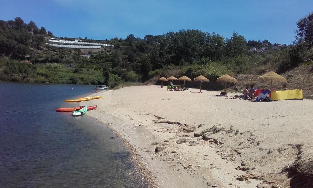 Canoas na Praia do Castelo