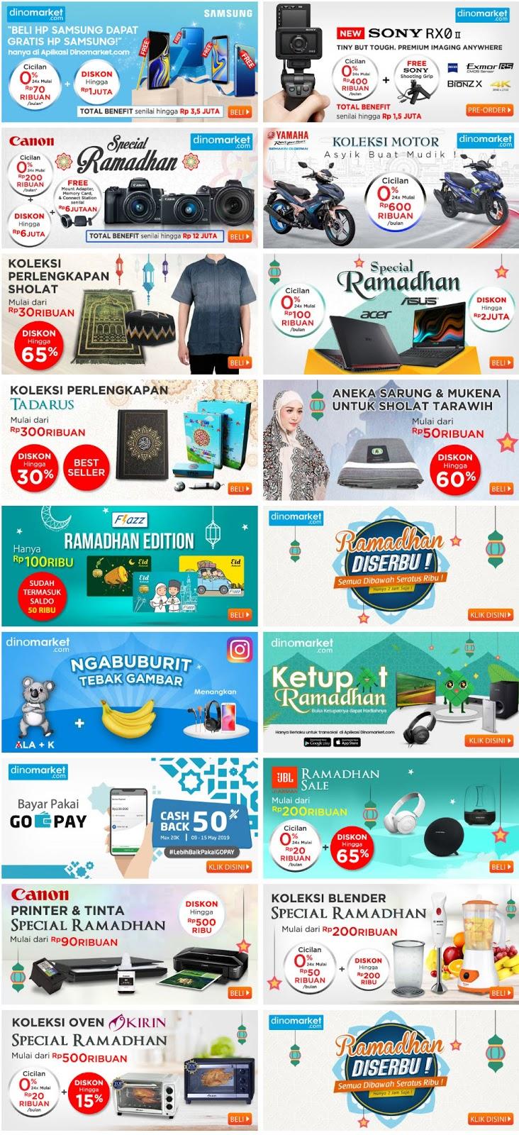 #DinoMarket - #Promo #Katalog Pasar Ramadhan 2019