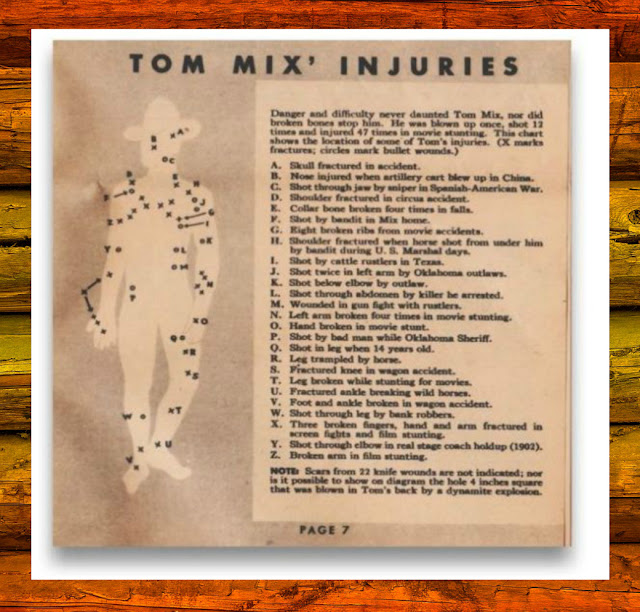 Tom Mix Secret Manual Injuries