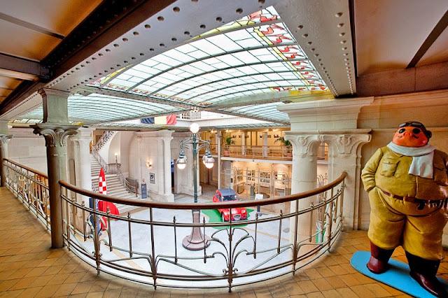 Centre Belge de la Bande Dessinée em Bruxelas