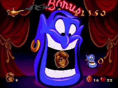 Aladdin MegaDrive