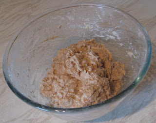 homemade bread mixture