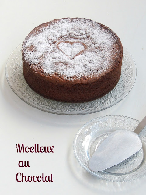 Moelleux au Chocolat,French Chocolate Sponge cake