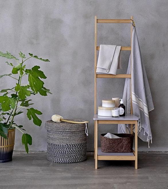 ideias originais jardim : ideias originais jardim: banho com toalheiros originais ~ Decoração e Ideias – casa e jardim