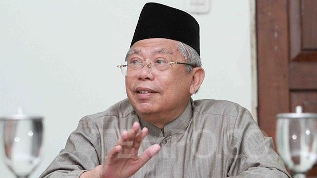 Ma'ruf Amin: Emang yang Boleh jadi Presiden-Wapres hanya Politisi, Tentara atau Pengusaha