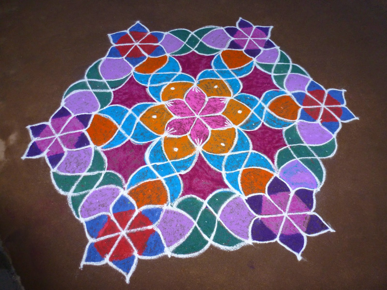 Dotted Rangoli Designs