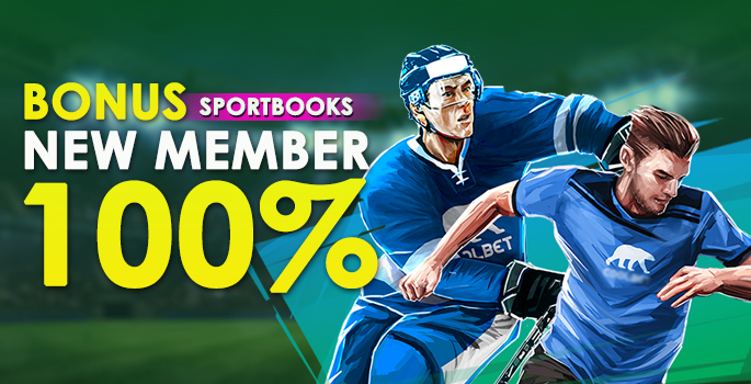 Bonus Member Baru Sportbooks 100%