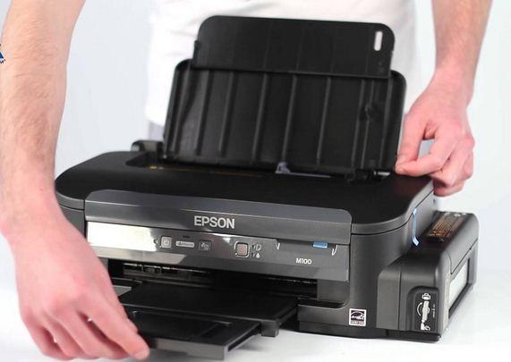 adalah sebuah printer hitam putih yang digunakan untuk mencetak dokument tanpa warna atau Spesifikasi Printer Epson Workforce M100 (Mono Printing) Terbaru