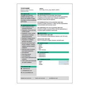 Write your CV