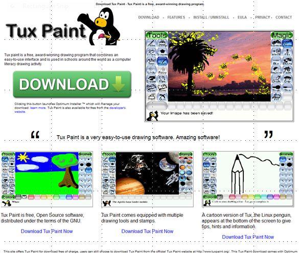 tux paint game online - photo #33