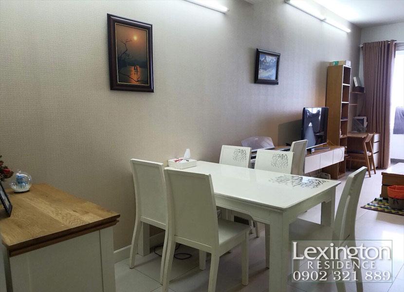 Lthuê căn hộ 2PN tầng 23 view hộ bơi tại Lexington Quận 2 - hình 3