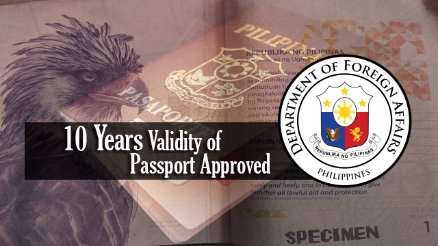 President Duterte Signs 10 Years Validity of Passport