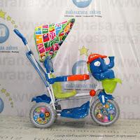Sepeda Roda Tiga Royal RY8088C Gajah Mexico Rocker Kanopi