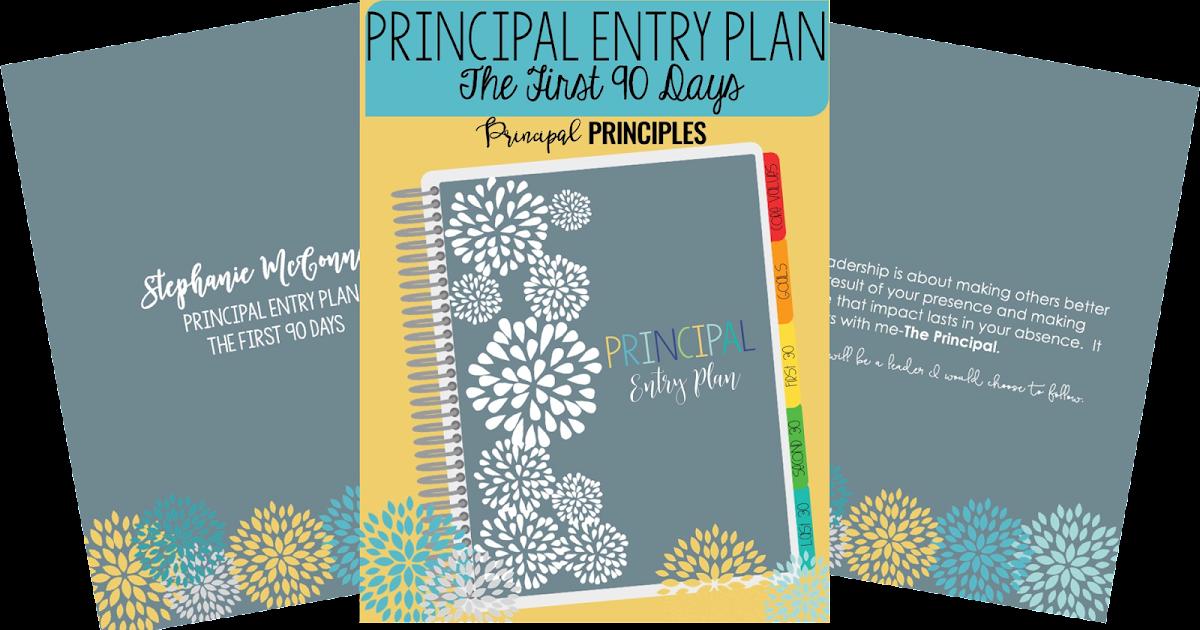 Principal 90 day plan digital resource principal principles.