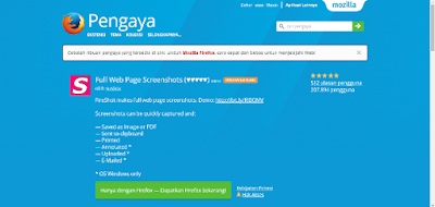Catatan Ikrom Fireshot Capture Page Mozilla Firefox