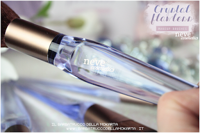recensione Crystal flat NeveCosmetics Crystal Flawless Brushes