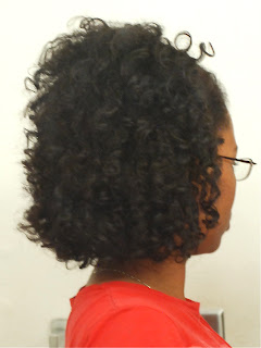 Braid Out Using Eco Styler Custard - Curly in Colorado