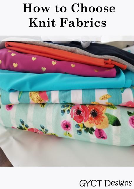 Pile of knit fabrics