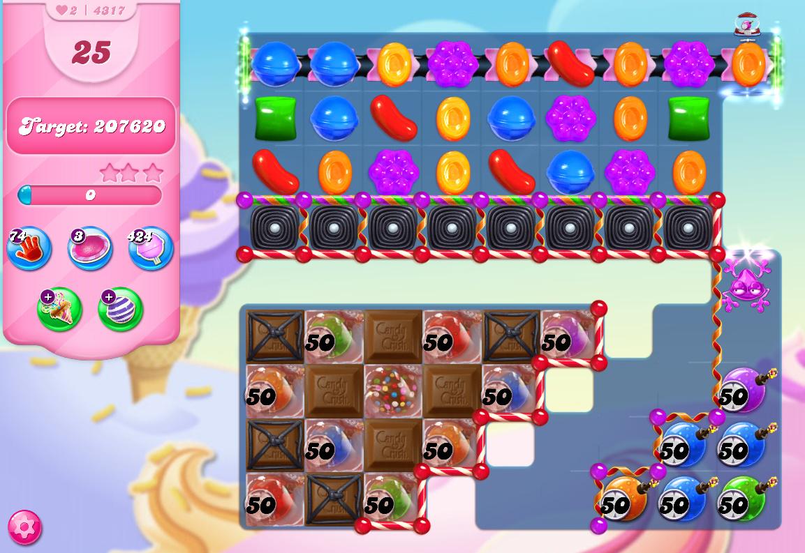 Candy Crush Saga level 4317