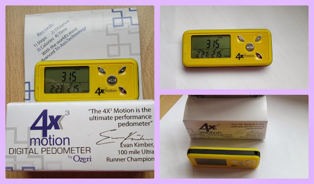 getting active and healthy with a pedometer for motivation