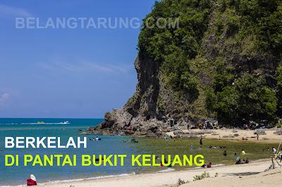 Mandi Manda Berkelah Di Pantai Bukit Keluang Besut