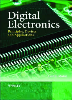 DIGITAL ELECTRONICS:-PRINCIPLES,DEVICES AND APPLICATIONS BY ANIL K.MAINI