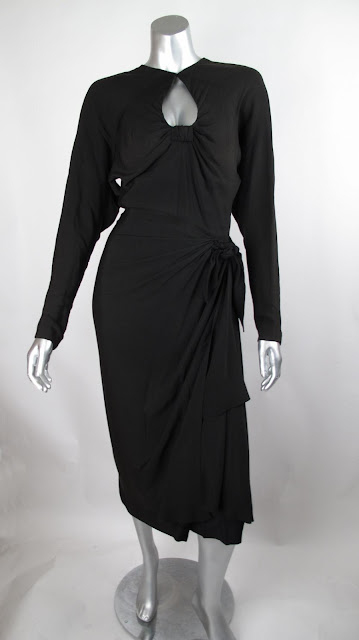 "Edith Head designed cocktail dress worn by Hedy Lamarr in ""My Favorite Spy"" Paramount, 1951"