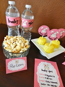 Mini Kit para Baby Shower de Niña.