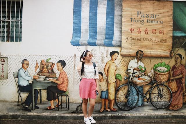 Tiong Bahru Murals