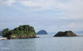 little islands, Gulf of Panama
