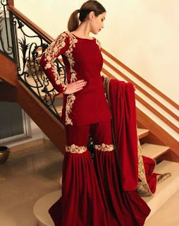 Outfit-Ideas-for-Indian-Wedding-Function-Sharara