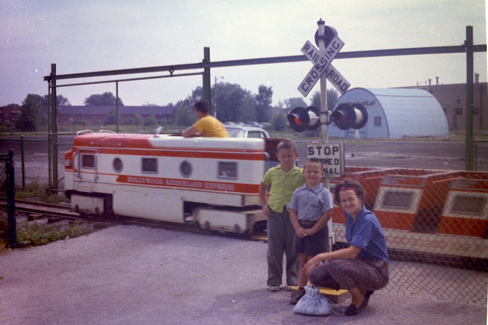 """kiddie land gym """"hollywood kiddieland"""" was an amusement park located in the area we now know as """"lincoln village,"""" which was on the southeast side of mccormick boulevard and devon avenue in chicago."""