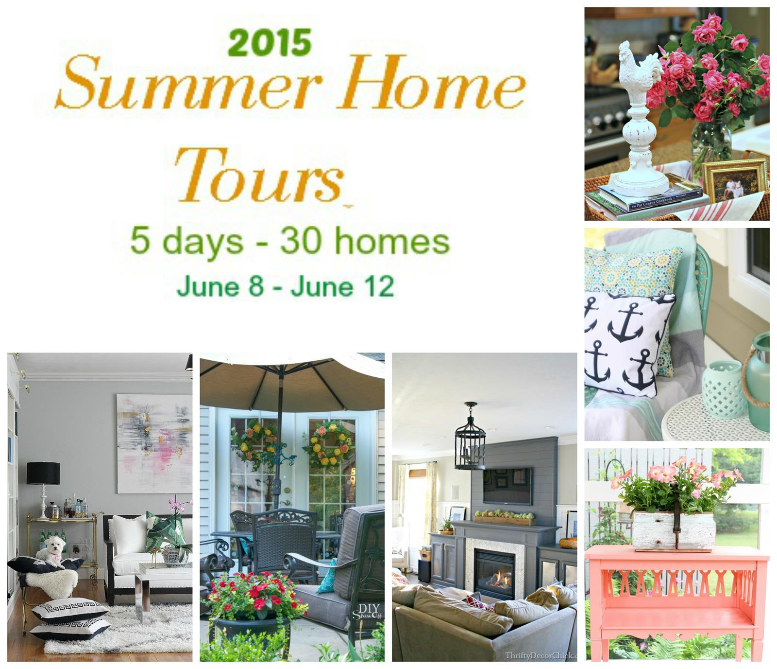 Our Summer Home Tour! from Thrifty Decor Chick