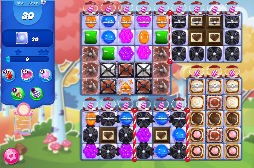 Candy Crush Saga level 5712