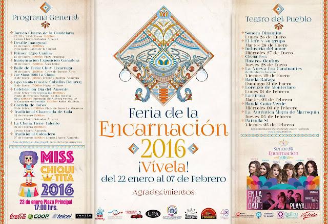programa feria de la encarnación 2016