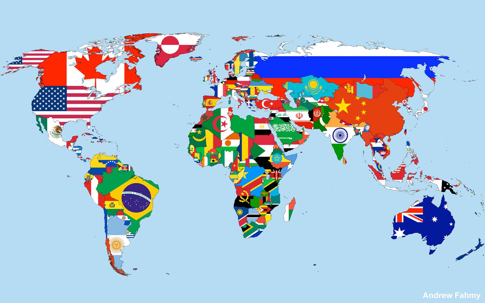 Carte Du Monde En Anglais Cosprocare